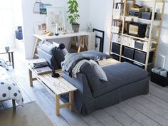 love this set up for a small living room