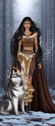 Digital Art Girl, Digital Portrait, Portrait Art, Fantasy Queen, Fantasy Art Women, Pin Up, Fantasy Drawings, Covet Fashion, Aesthetic Art