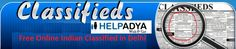 Looking forFree Online Indian Classified in Delhi, you have reached the right place! Help Adya is an online platform for free ad posting.Where you can post wide range of products & services, so, hurry up, post your advert now and grab the opportunity to sell your product & services on leading channel. For more information visitwww.helpadya.comor call at +91-8527198118.