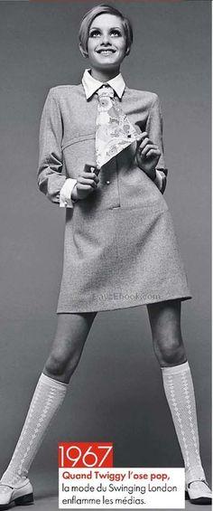 Twiggy 1967 1960s mod vintage fashion, swinging sixties, Twiggy style, Twiggy…