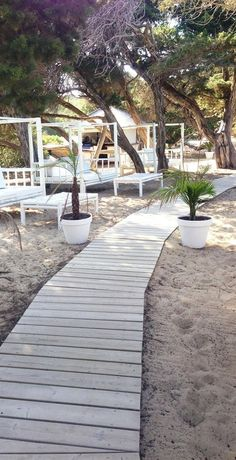 Cala Bassa Beach Club, Ibiza, Spain