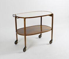 Servierwagen/Teewagen 50er/60er-Jahre, Mid Century, serving cart   Antiquitäten & Kunst, Design & Stil, 1960-1969   eBay! Mid Century Style, Table, Furniture, Ebay, Design, Home Decor, Drink Cart, Art, Homemade Home Decor