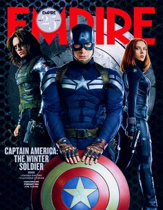 Captain America: The Winter Soldier *HYPERVENTILATING*