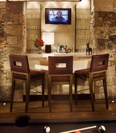 bar designs for basement | Basement bar