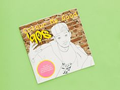 Hop on the coloring book bandwagon with this ode to all things '90s.