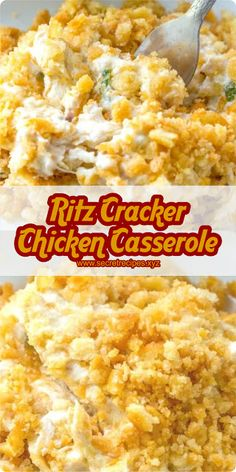 RITZ CRACKER CHICKEN CASSEROLE | SECRET RECIPES #chicken #chickenrecipes #recipes #recipeoftheday #chickenfoodrecipes #chickens #chickenwings