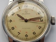 Vintage-Wrist-Watch-HELBROS-SWISS-MADE-AUTOMATIC-with-24-HOUR-DIAL-GRO