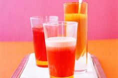 Revitalise with this fresh fruit juice, packed with the goodness of apples and strawberries.