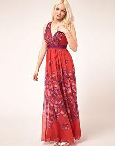Mango Floral Maxi Dress