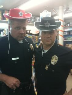 """Southland, """" officers Cooper and Sheeman"""""""