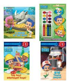Take a look at this Bubble Guppies Reading Adventure Paperback Set on zulily today!
