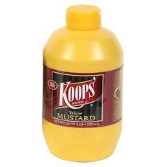 Koops' Yellow Mustard, 20 oz.