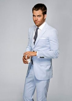 Grooms suit, spring or summer wedding groom's suit