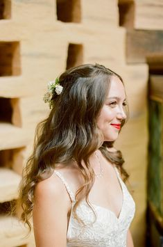 Samara and Martin Senoville's Wedding in a French Chateau Bridal Hair And Makeup, Wedding Makeup, Hair Makeup, Natural Looking Curls, Frizz Control, French Chateau, Wavy Hair, Natural Makeup, Naturally Curly