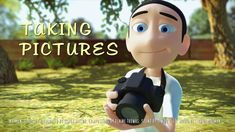 Taking Pictures (Animated Short Film) by Simon Taylor