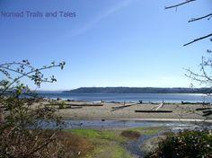 Chautauqua Beach north of Tramp Harbor, Vashon Island, Washington http://nomadtrailsandtales.com/2013/vashon-island/#