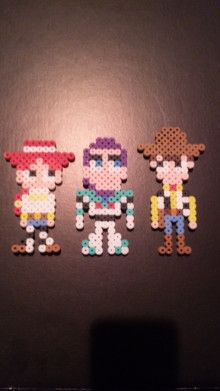 Toy Story perler beads