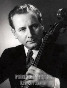 Born 1902 in Buenos Aires, Anthony Pini began his cello playing in Arbroath, Scotland. He played with his Scottish mother in a piano trio, playing music for the silent movies. He met Casals as a teenager whilst working in the Scottish Orchestra, and decided to move to London to pursue his career. He was principal cello of the London Philharmonic   Orchestra, the Royal Philharmonic Orchestra, and the Royal Opera House. Later in life he became a professor at the Royal College of Music, London.