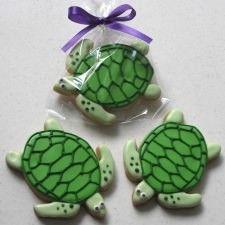 sea turtle cookies