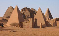 Nubia, Kerma, Kush, Meroe, Black Pharaohs - Crystalinks,Images of early Gods are not unlike those found on hieroglyphs of Egyptian Gods - with heads of animals and birds.