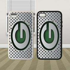 NFL Green Bay Packers Custom Hybrid iPhone 4 4s 5 5s 5c Case Cover Hard