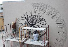 Four New Murals by David de la Mano and Pablo S. Herrero street art murals