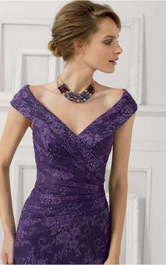 Sheath Natural Sleeveless V-neck Floor-length Evening Dresses