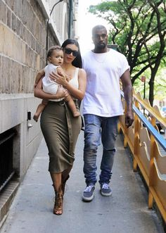 Kim and Kanye took their daughter North West to the Children's Museum in New York for her 1st birthday.