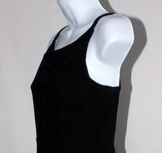 Vintage Early 90's Black Sheath Dress by DIXIETEXTILES on Etsy, $32.00