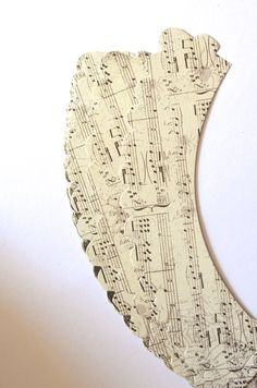 Music Paper Cupcake Wrappers by thePathLessTraveled on Etsy