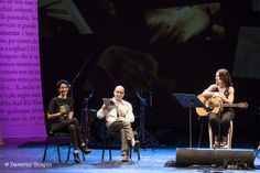 Andrea Delogu, Ivo Franchi e Paola Turci