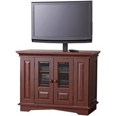 "Willow Mountain Cherry TV Stand with Mount, for TVs up to 37"" $129.88"