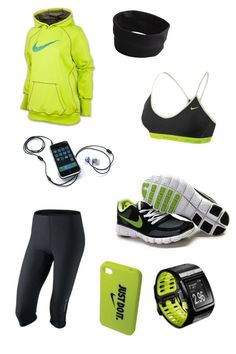 I love this!  Could do with it too.   Nike running outfit for those cold mornings