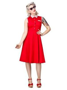 Polly Shirt Dress by Collectif