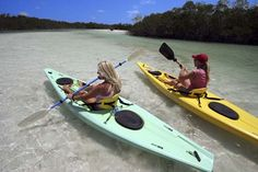 Kayaking and camping in the Florida Keys.