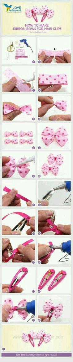 Como hacer un Moño