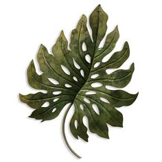 StyleCraft Home Collection H x W Floral Metal Wall Accent at Lowe's. This metal wall decor uses a beautiful natural motif and gives it a clean modern twist. It's handcrafted using rugged metal to create an engaging look Metal Wall Sculpture, Wall Sculptures, Metal Wall Decor, Wall Art Decor, Tropical Wall Decor, Contemporary Wall Decor, Leaf Shapes, Metal Walls, Metal Art