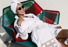 płaszcz kąpielowy, szlafrok z kosmetyczką w SHELEST na DaWanda.com