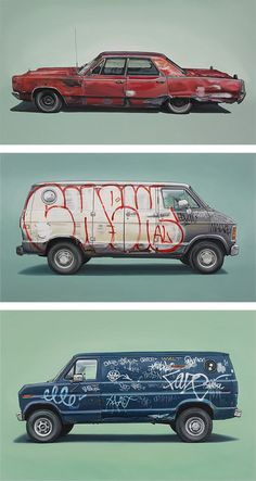 Vehicle Paintings by Kevin Cyr – Inspiration Grid Auto Illustration, Carros Vw, Car Drawings, Grid Design, Car Sketch, Automotive Art, Designs To Draw, Art Cars, Concept Cars