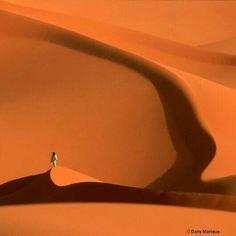 The Sahara Desert in Libya