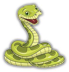 Happy Snake Cartoon Animal Art Decor Bumper Sticker 5'' x... https://www.amazon.com/dp/B01FTDOVHK/ref=cm_sw_r_pi_dp_1yOwxb8Z8X0ZC