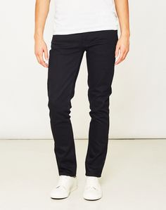 Nudie Black Jeans sold at The Idle Man | #StyleMadeEasy