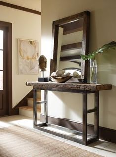 Classic Home Jaden Collection Reclaimed Wood Console Table - 51003204. From Moores Home Furnishings.