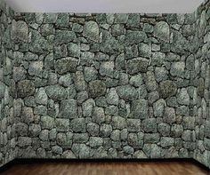 Make your room or party space look like the walls are made of stone, dungeon look etc... Realistic looking wall roll 20 feet x 4 feet. For indoor or outdoor use. Plastic static cling film. Secure with
