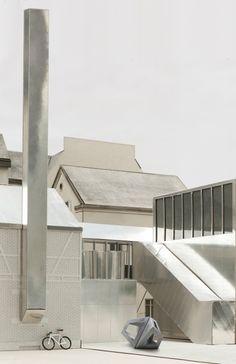 ETH Zürich - Prof. A. Caruso :: Archive :: Diploma Projects Maquette Architecture, Landscape Architecture, Interior Architecture, Architecture Models, Arch Model, Modelos 3d, Building Exterior, Superflat, Facade Design