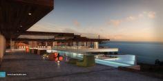 Ibiza House - Kuan Studio / 3D Visualization 3d Visualization, Ibiza, Exterior, Mansions, Studio, House Styles, Building, Travel, Image