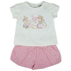 Honey & Clover Kidswear / Children's Apparel | Rosa 2-Piece Set by Mayoral