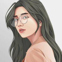 Graphic Design Services - Hire a Graphic Designer Today Vector Portrait, Digital Portrait, Portrait Art, Portrait Illustration, Graphic Illustration, Illustrations, Girl Cartoon, Cartoon Art, Portraits Illustrés