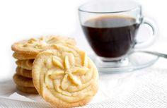 Vanilla Spritz Shortbread Cookies Yes.
