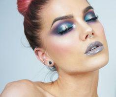 WEBSTA @ lindahallbergs - Tried out the new @nikkietutorials x @toofaced power of makeup palette!  #fotd #makeup